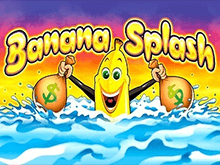 Banana Splash на зеркале Вулкан